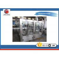 Electric 5KW Auto Water Filling Machine Automatic PLC + Touch Screen 6000 - 8000BPH