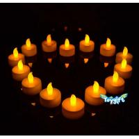 Buy cheap Flickering LED Tea Light Battery Candles from wholesalers