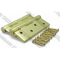 Buy cheap Steel Door Hinges and Screws PVD Coating,  Polishing gold, polishing black, brushing gold, brushing black, nickle color from wholesalers