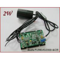Buy cheap FU980AD2000-BC25 980nm 2000mw Infrared Laser Module from wholesalers