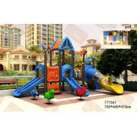Buy cheap Blue forest children outdoor playground slide equipment factory offer from wholesalers