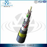 Buy cheap ADSS Hot sale Outdoor 24 Core Single Module G.652D all dielectric adss fiber optic cable for Power Transmission Line from wholesalers