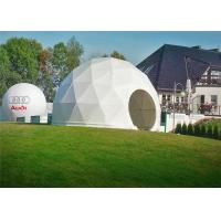 Buy cheap Outdoor PVC Heavy Duty Geodesic Tent Dome Waterproofing Half Sphere from wholesalers