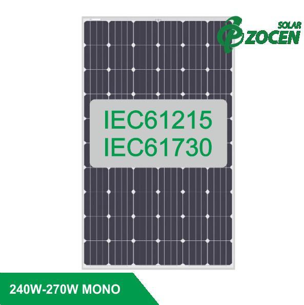 250 255 watt monocrystalline pv solar panels high efficient for on grid solar system 105867137. Black Bedroom Furniture Sets. Home Design Ideas