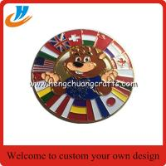 Buy cheap Cute cartoon logo pin badge round shape metal badge with custom from wholesalers