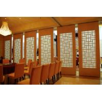 Buy cheap Interior Sliding Door Acoustic Dining Room Dividers 500 / 1200mm Width from wholesalers