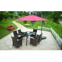 Buy cheap Hotel Furniture PE Rattan chair Outdoor garden wicker chairs and table from wholesalers
