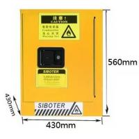 Buy cheap Locker Laboratory Equipment Chemical Flammable Storage Cabinet 460*430*430 from wholesalers