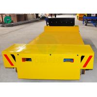 Buy cheap Die Electric Transfer Vehicle Mold Transport Flat Rail Car for Workshop Material Handling from wholesalers