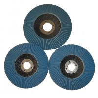 Buy cheap Angle Grinder Abrasive Flap Disc Zirconia aluminium oxide Conical Sanding Disc Fiberglass from wholesalers