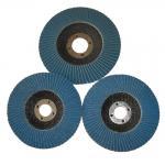 Buy cheap Angle Grinder Abrasive Flap Disc Zirconia aluminium oxide Conical Sanding Disc Fiberglass from wholesalers