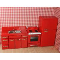 Buy cheap 1:12 scale dollhouse miniature ,dollhouse furniture kitchen suits (JJ005) from wholesalers