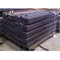 Buy cheap Crusher Wear Parts Hybrid Alloys Blow Bar Dry Mortar Crusher Liners from wholesalers