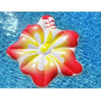 Buy cheap Modern Inflatable Pool Mattress Hibiscus Flower Floating Raft Water Bed for sale from wholesalers