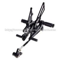 Buy cheap CNC Honda Cbr600rr Rearsets , Cbr600rr Adjustable Rearsets Easy Installation from wholesalers