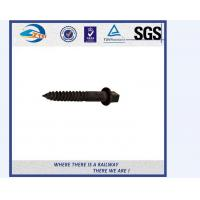 Buy cheap High Tensile Screw Spike Railway Spike Railroad Screw 8.8 Grade from wholesalers