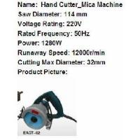 Buy cheap Granite Hand Cutter from wholesalers