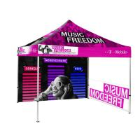Buy cheap Hex 40mm Trade Show Canopy Tent Easily Extendable Legs Stable Free Design from wholesalers