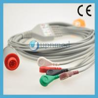 Buy cheap Bionet One piece 5-lead ECG Cable with leadwires from wholesalers