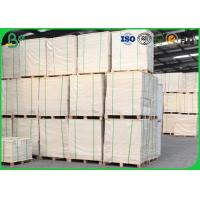 Buy cheap 95% - 98% Brightness Glossy Coated Paper 70gsm 60gsm In Rolls / Sheets For Color Print from wholesalers