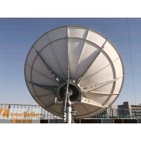 Buy cheap 3.0m Ku band Earth Station Antenna / Satellite Communication and Uplink Station Dish from wholesalers