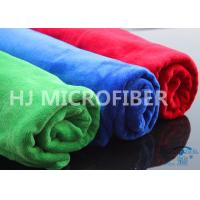 Buy cheap OEM Microfiber Weft-Knitted Brushed Terry Cloth , Microfibre Cloths Car Cleaning from wholesalers