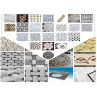 Buy cheap Polished Surface Marble Mosaic Tile 305mm * 305mm * 10mm / Customed Size from wholesalers