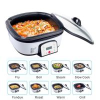 Buy cheap Knob Control Electric Multi Cooker Easy Operation 220V Fast Cooking Speed from wholesalers