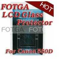 Buy cheap Pro Optical Digital Camera LCD Screen FOTGA Glass Protector for CANON 550D T2i from wholesalers