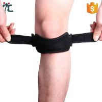 Buy cheap adjustable open patella tendon knee support strap brace belt knee band from wholesalers