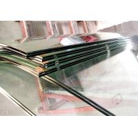 Buy cheap Clear Decorative Curved tempered Laminated Glass Curtain Wall With  6+0.76PVB+6,8+1.14PVB+8 Thickness from wholesalers