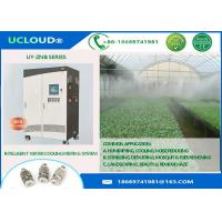 Buy cheap Greenhouse High Pressure Fog Jet Spray Nozzle Two Pumps For Cooling System Anti Drip from wholesalers