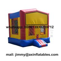 Buy cheap Customized Outdoor Commercial Kids Inflatable Bounce House,Removable Theme Inflatable Moonwalk For Sale from wholesalers