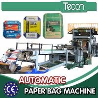 Buy cheap Cement Bag Machines For Making Paper Bags , Automatic Deviation Rectifying System from wholesalers
