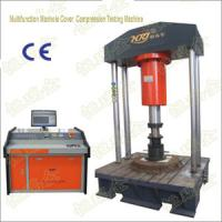 Buy cheap Computer Control Multifuntion Manhole Cover Compression Testine Machine from wholesalers