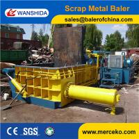 Buy cheap Equipment industry strong power Hydraulic Scrap Baler to press waste car  for sale from wholesalers