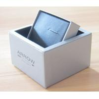 Buy cheap Grey pearl Paper Rotating Cufflink Boxes product
