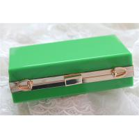 Buy cheap Green lady acrylic makeup storage boxes Retangle With waterproof product