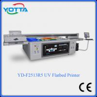 Buy cheap New design large format pvc ceiling plafond uv led flatbed printer from wholesalers