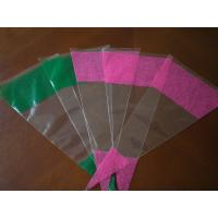 Buy cheap V - Shape Biodegradable Plastic Flower Sleeves With Intaglio Printing from wholesalers