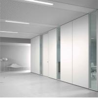 Buy cheap Modern 85 Mm Operable Partition Walls / Movable Sound Insulation Wall from wholesalers