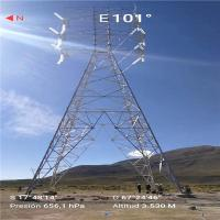 Buy cheap PLS / MS Overhead Line Tower Single Circuit Steel Lattice Tower 66kV 330kV from wholesalers