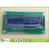 Buy cheap STN Blue Negative 16x2 Character LCD Module Customized For Game Player from wholesalers