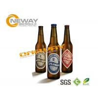 Buy cheap Smooth Glossy Paper Beer Bottle Labels Anti - Oil Self Adhesive Label from wholesalers