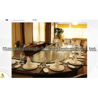 Buy cheap Arch Shape Stainless Steel Commercial 12 Seats Teppanyaki Grill Table Electromagnetic Heating from wholesalers