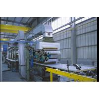 Buy cheap 40mm Thickness Corrugated Sandwich Panel  Production Line  With 3m Mini Cutting Length from wholesalers