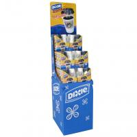 Buy cheap Retail Corrugated Cardboard Display Stands Custormized Ivory Board Displaying Goods product