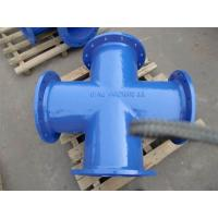 Buy cheap ISO2531 EN545 Ductile Iron Pipe fittings -all flanged tee from wholesalers