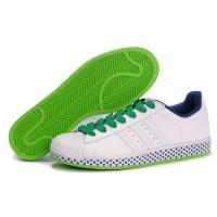 Buy cheap cheap Adidas Superstar 2 - White Green Stars Model: 248 from wholesalers