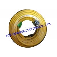 Buy cheap Indoor custom 24 Core Breakout Fiber Network Cable FC / UPC - E2000 / APC SM G.652D from wholesalers